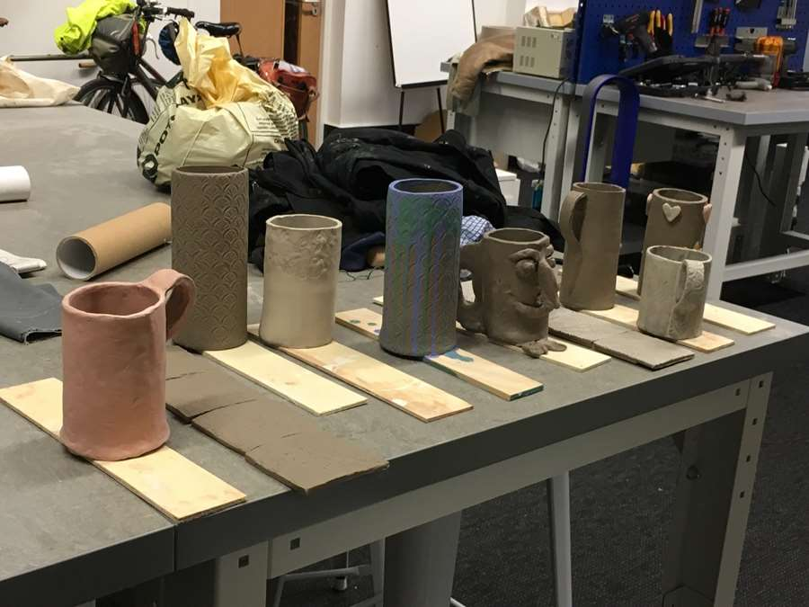 Pottery Session Photo
